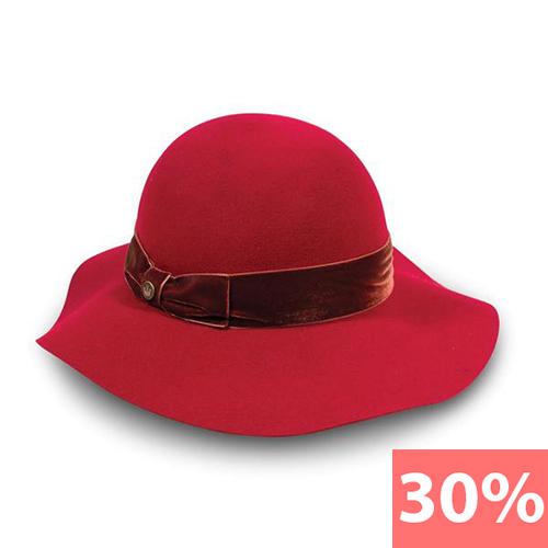 Шляпа  арт. 105-5807 S 55см (темно-красный)
