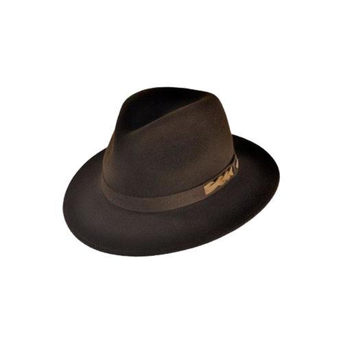 Шляпа HAYNE (темно-коричневый)