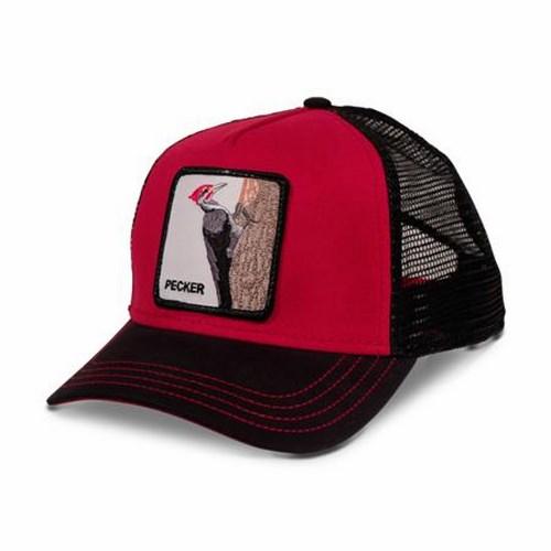 Бейсболка  арт. 101-6096 (красный)