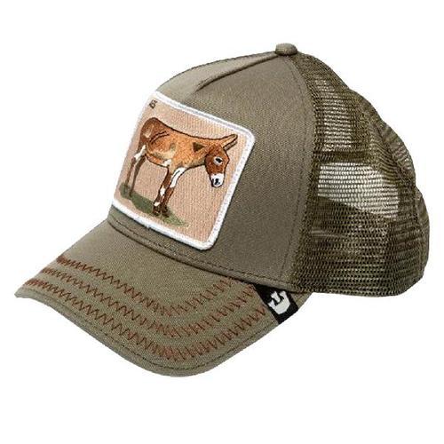 Бейсболка Donkey Ass (оливковый)