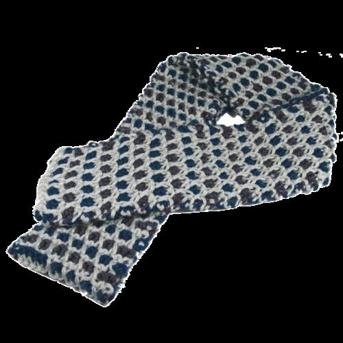 Шарф  арт. 120-0612 (голубой)