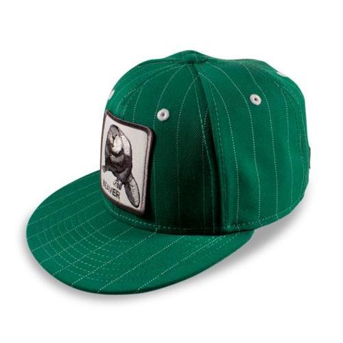Бейсболка Beaver Town (зеленый)